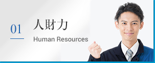 01 人財力 Human Resources